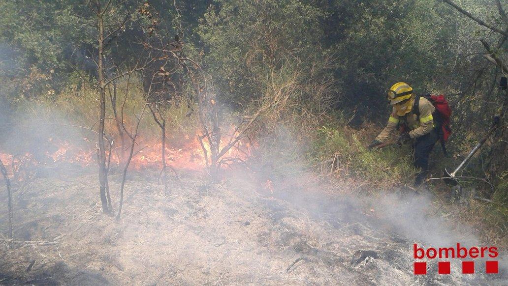 Incendi a Teià