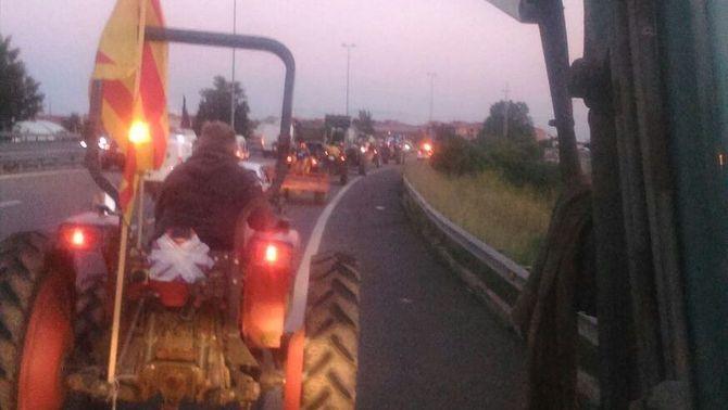 Tractors per l'autopista del Maresme. Foto: 3/24