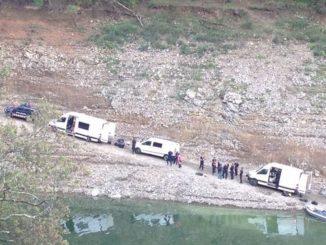 Els Mossos han trobat dos cadàvers al pantà de Susqueda. Foto: 3/24