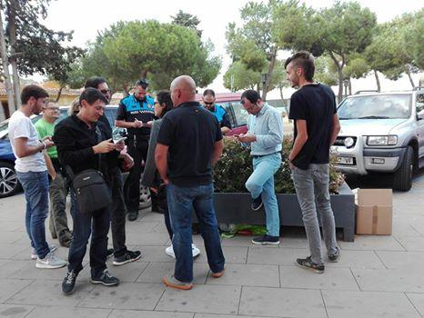 Les policies de Palafolls i Vilassar de Dalt incauten material del referèndum
