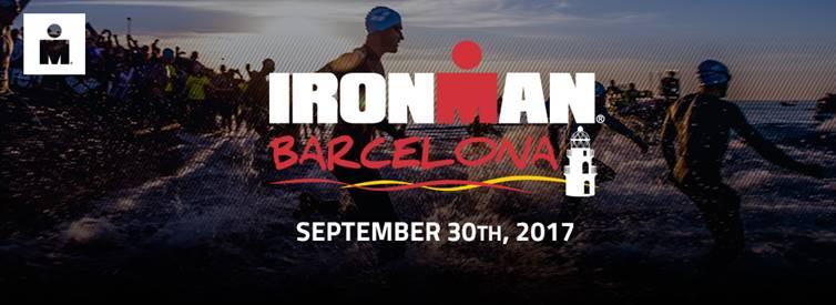 Cartell de l'Ironman Barcelona