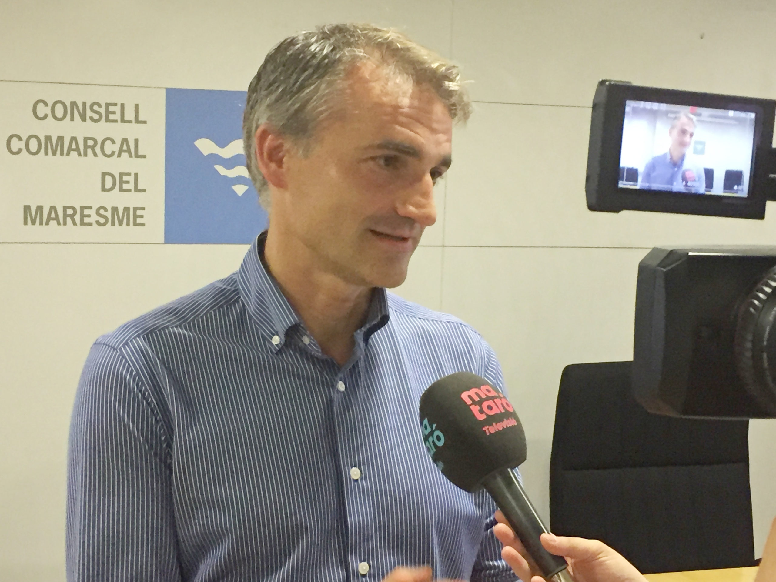 Josep Triadó és el nou president del Consell Comarcal del Maresme