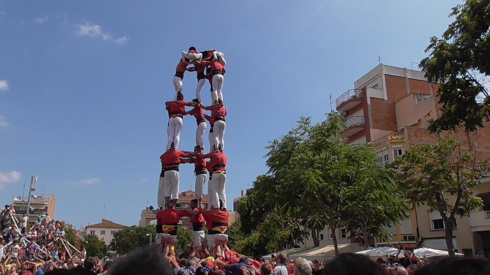 Castellers de l'Alt Maresme. Foto: Maduixots
