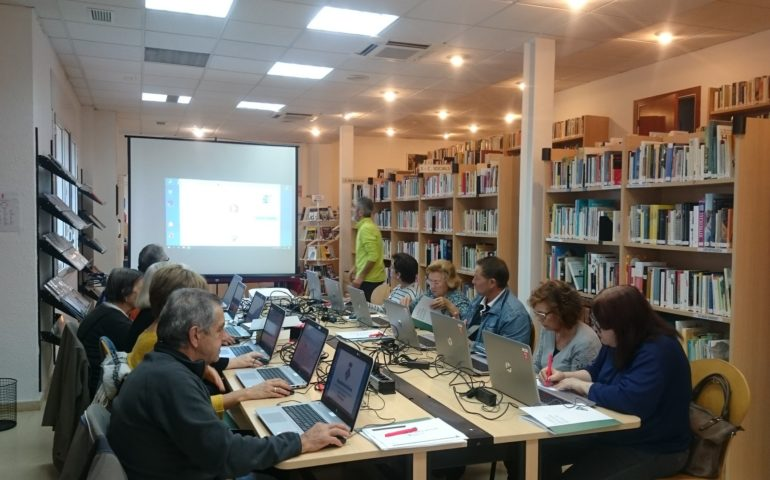 Biblioteca de Tossa de Mar. Foto: Facebook biblioteca