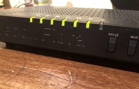 Router de fibra òptica. Foto: Ràdio Capital