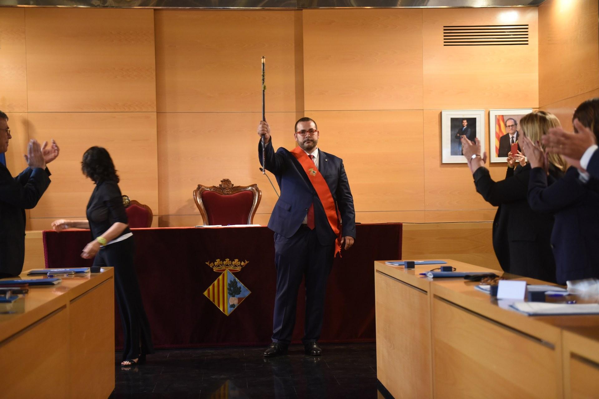 David Bote. Foto: Aj. Mataró