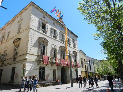 Façana de l'Ajuntament de Mataró. Foto: Aj. Mataró