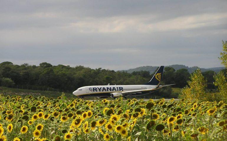 Un avió de Ryanair a Vilobí