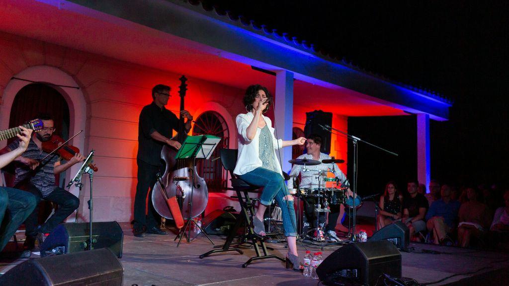 Elena Gadel al Festival NEC de Calella