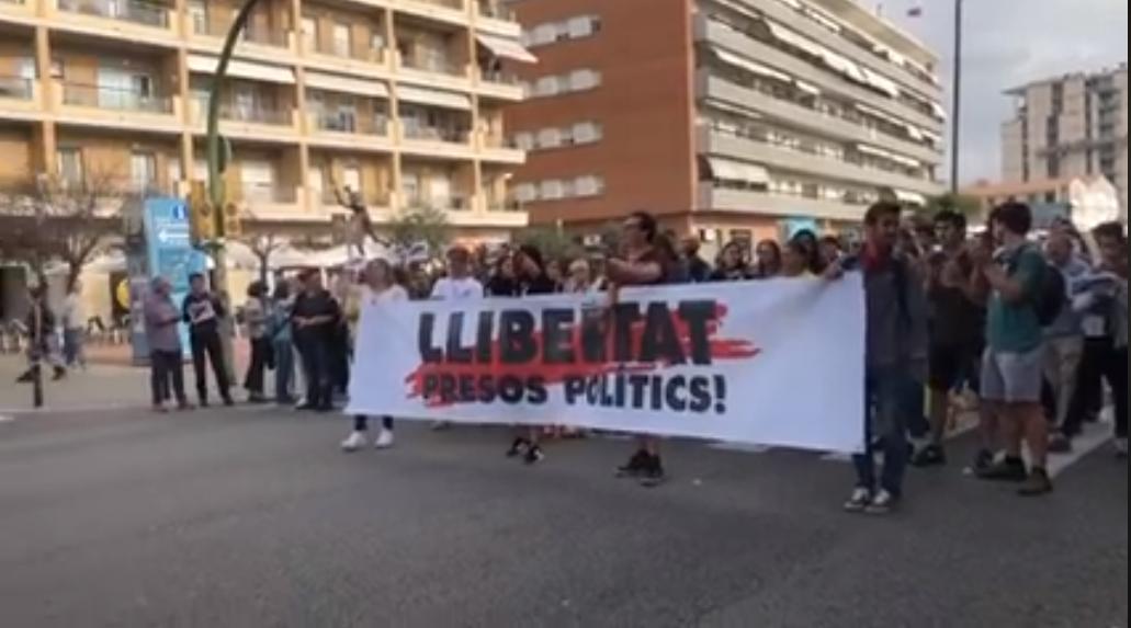 Protesta sentència Mataró