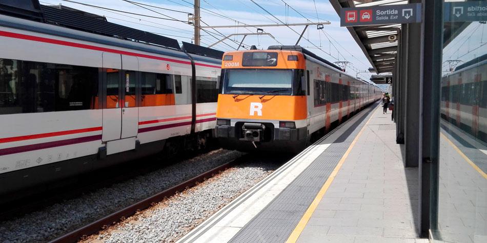 Estació tren Premià de Mar. Foto: Aj. Premià de Mar