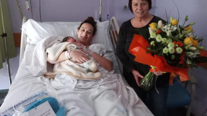 La Tatiana ha nascut a l'Hospital de Calella. Foto: CSMS
