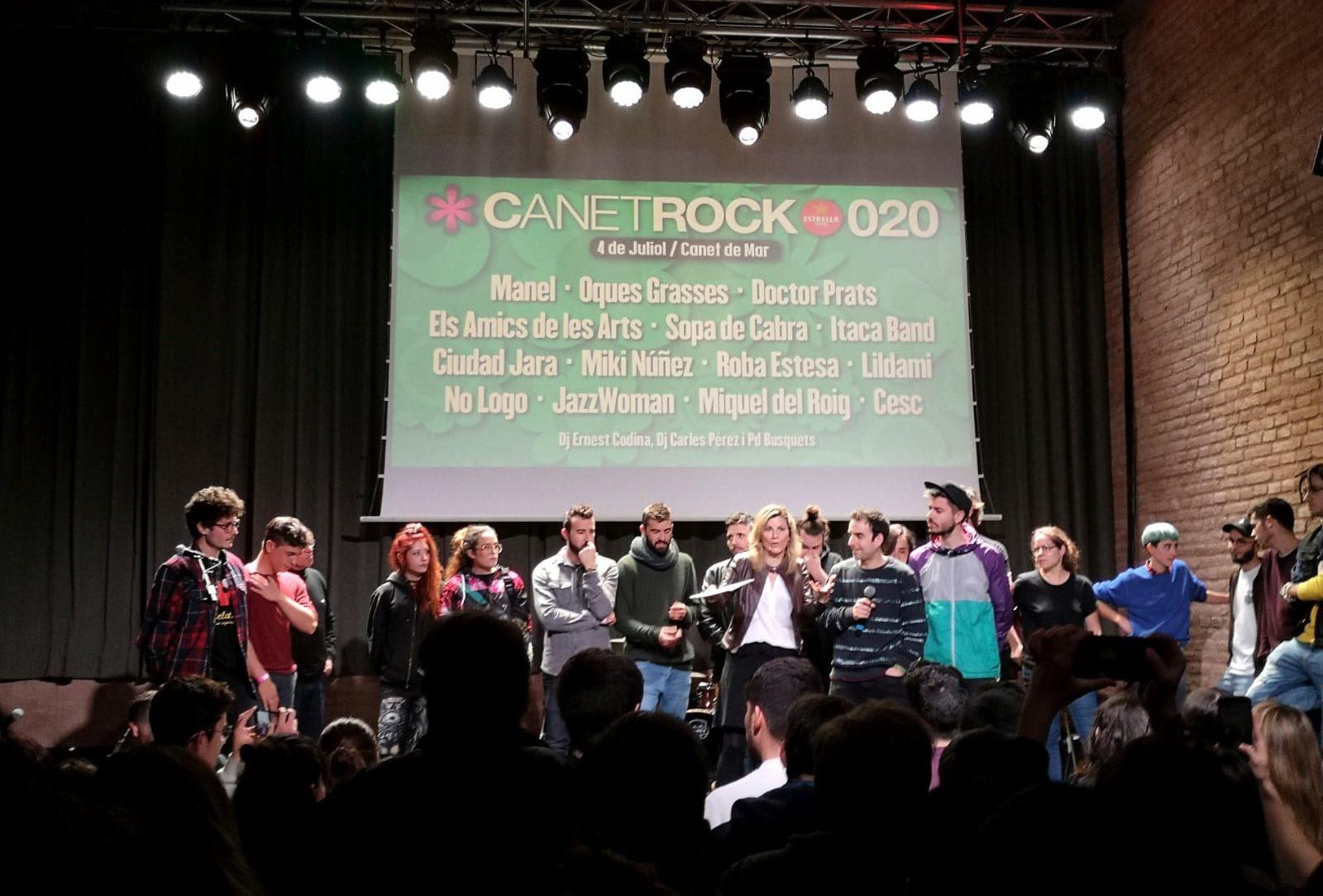 Presentació del cartell del CanetRock 2020. Foto: M. Alaminos - maresme360