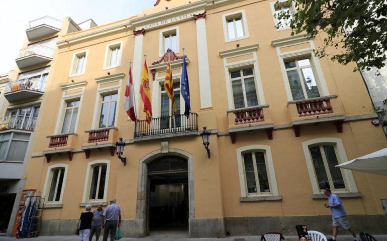 Façana de l'Ajuntament de Blanes. Foto: Aj. Blanes