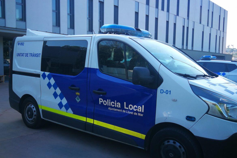 Vehicle de trànsit de la Policia Local de Lloret de Mar