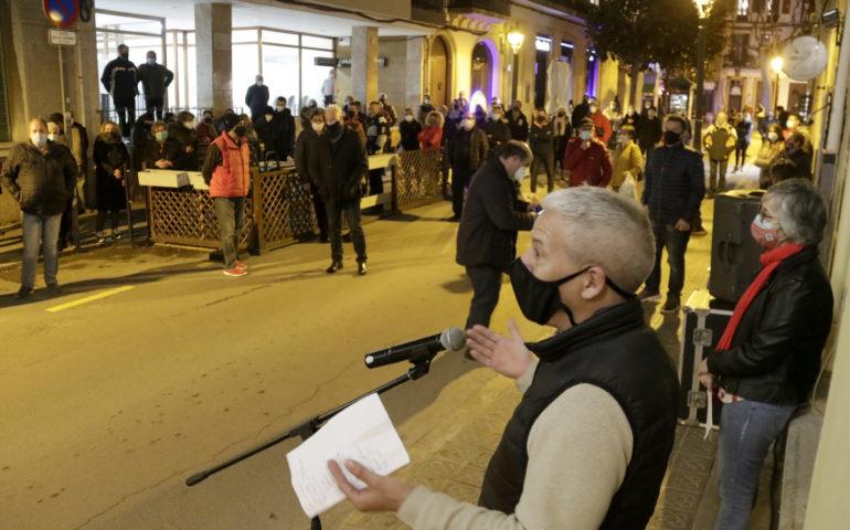 Concentració a Canet de Mar per denunciar la manca de seguretat al municipi. Foto: ACN - Jordi Pujolar