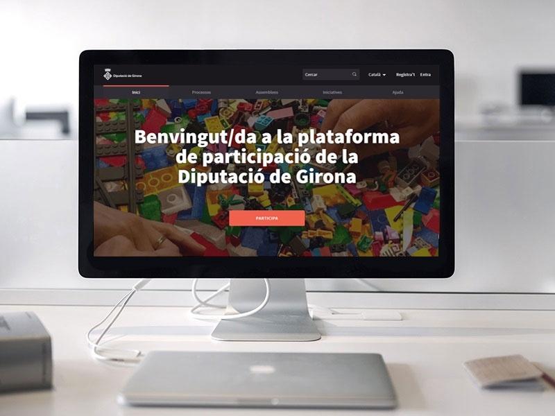 La plataforma de participació ciutadana Decidim arriba a Sils. Foto: Diputació de Girona
