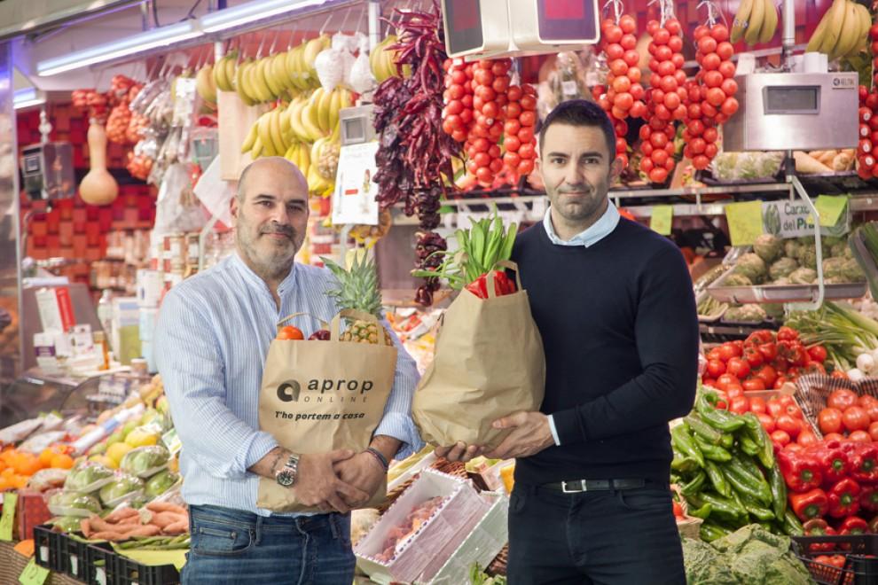 David Barbeito (esquerra) i Jordi Ventura (dreta), fundadors d'Aprop Online. Foto: Aprop Online