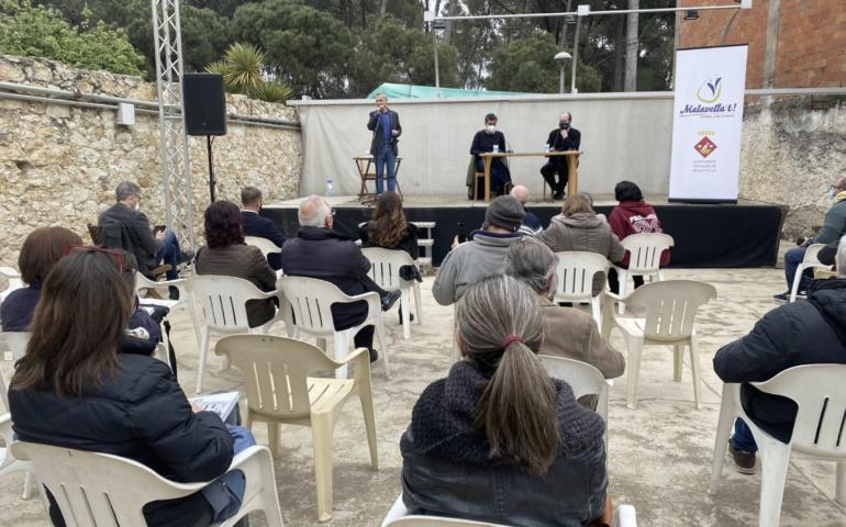 """Presentació del llibre """"Caldes de Malavella desapareguda"""". Foto: Aj. Caldes"""