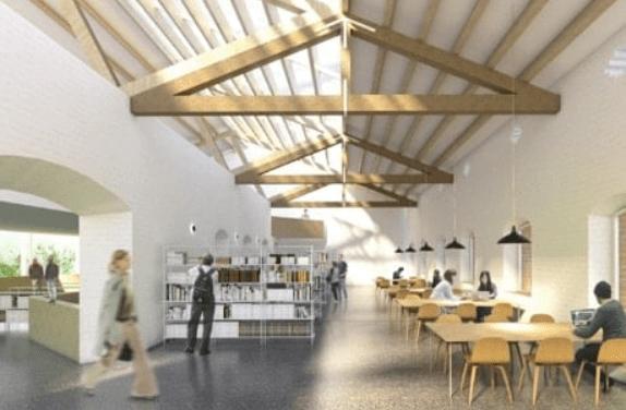 Projecte de la nova biblioteca a Arenys de Mar. Foto: Aj. Arenys de Mar