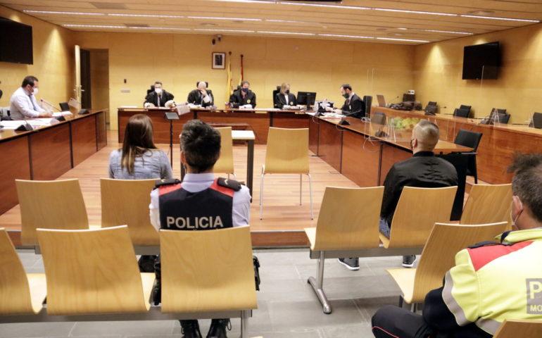 Judici Audiència de Girona on han jutjat l'assalt violent de Sant Hilari