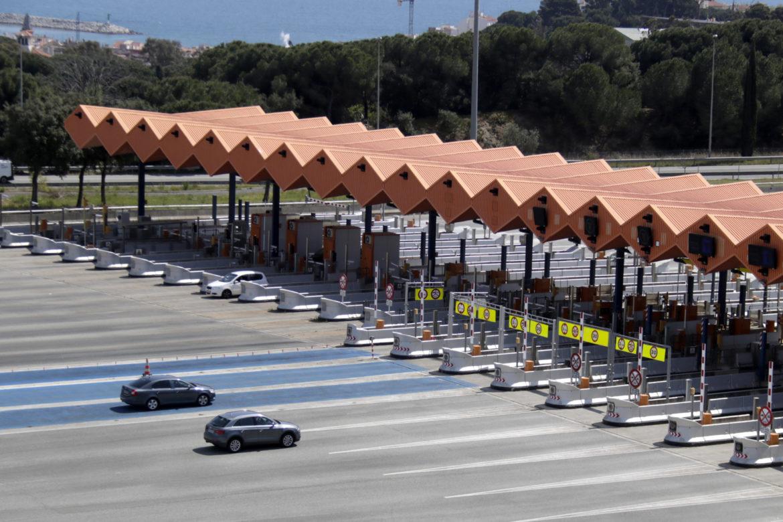 Peatge de l'autopista C-32. Foto: ACN - Jordi Pujolar