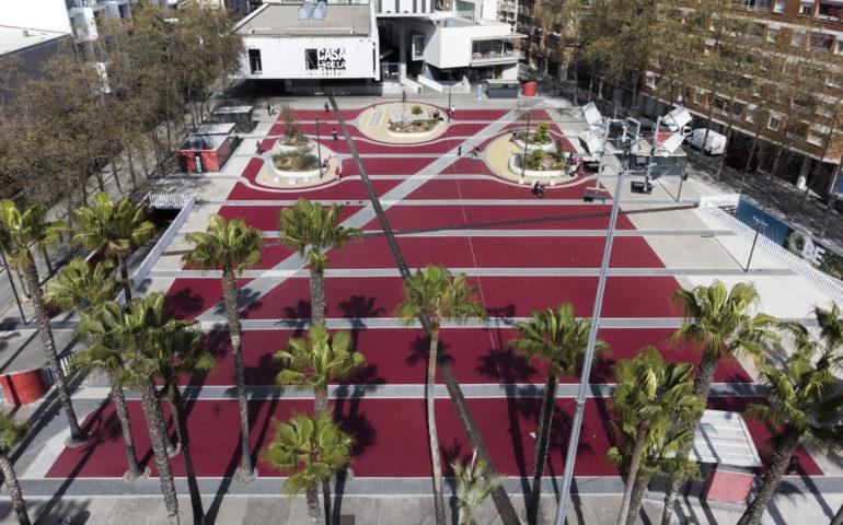 Plaça Pere Torrent. Foto: Aj. Lloret