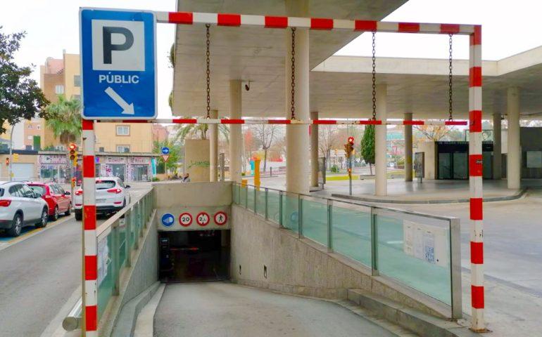 Aparcament de l'estació d'autobusos de Lloret. Foto: Aj. Lloret
