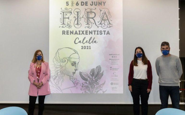 Presentació de la Fira Renaixentista de Calella 2021. Foto: Aj. Calella