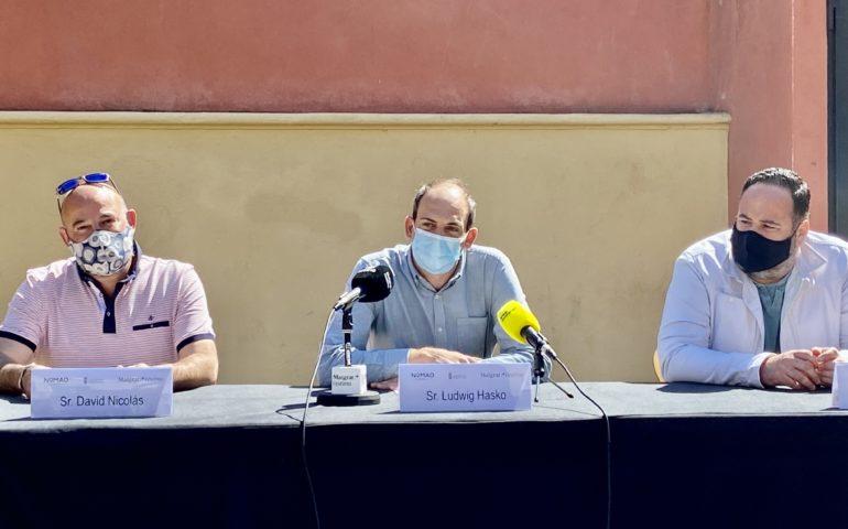 Presentació del Nomand Festival a Malgrat. Foto: Aj. Malgrat