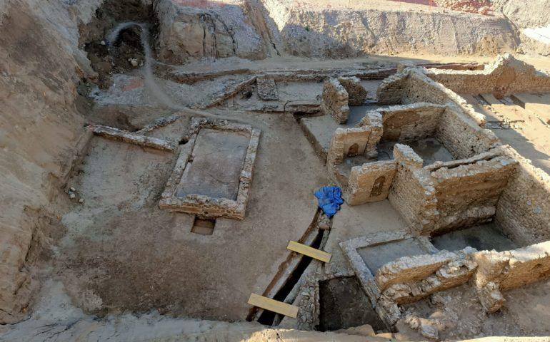 Restes de la vila romana de Calella