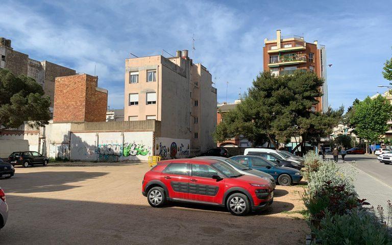 La reurbanització de Cal Vedat ha començat aquest diumenge. Foto: Aj. Pineda
