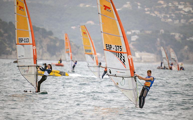 Campionat d'Espanya de Windsurfing 2019. Foto: Alfred Farré - Aj. Blanes