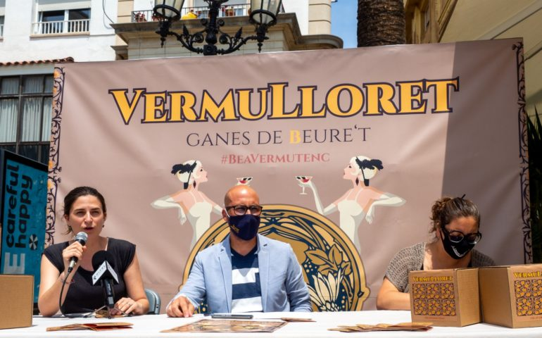 Presentació del Vermulloret, que s'ha estrenat aquest cap de setmana. Foto: Aj. Lloret