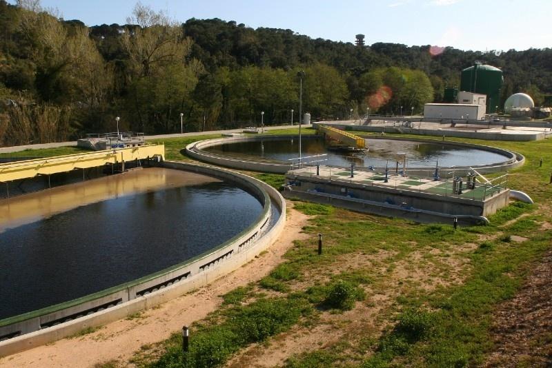 Sanejament d'aigües. Foto: Consorci d'Aigues Costa Brava-Girona