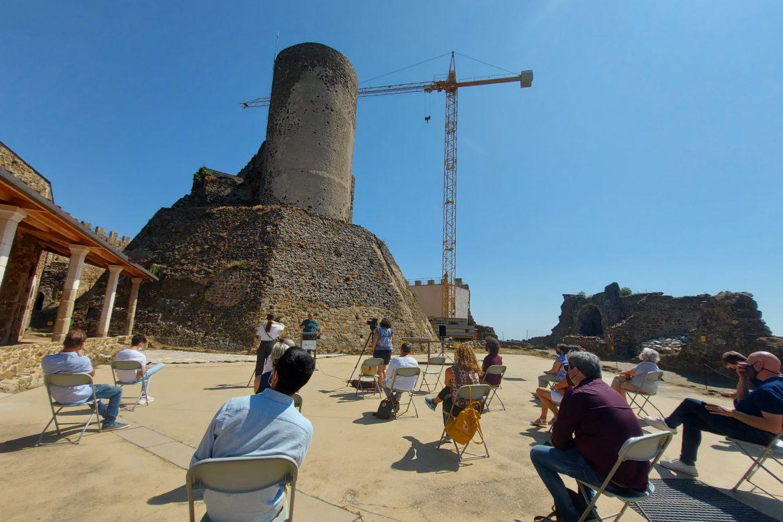 Presentació Centre d'Interpretació al Castell de Monstoriu