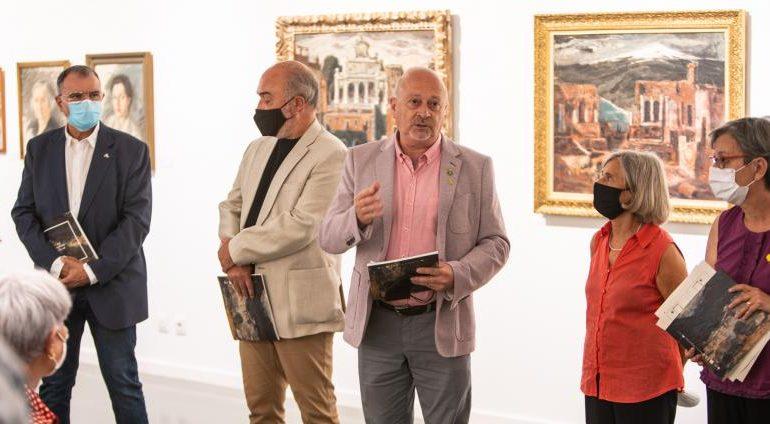 Inauguració de l'exposició 'Els nostres Beulas' a la Casa de la Paraula. Foto: Aj. Santa Coloma de Farners / David Rueda