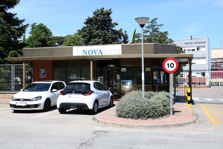 Planta de Novartis a Les Franqueses del Vallès.