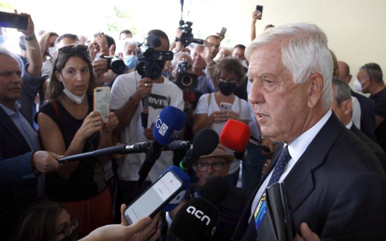 L'advocat de Puigdemont a la sortida del Tribunal d'Apel·lació de l'Alguer
